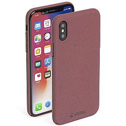 Krusell Sandby Cover for Apple iPhone X - Rust