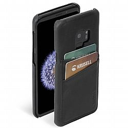 Krusell Sunne 2 Card Cover for Samsung Galaxy S9 in Vintage Black