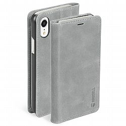 Krusell Sunne 4 Card FolioWallet for Apple iPhone Xs Max - Vintage Grey