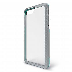 Bodyguardz Trainr Case for Apple iPhone 6+/6s+/7+/8+ (PLUS) in Grey/Mint
