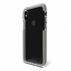Bodyguardz Ace Pro Case for Apple iPhone X - Clear/Gray