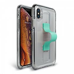 Bodyguardz SlideVue Case for iPhone Xs Max - Clear/Mint