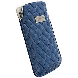 Krusell 95367 Avenyn Mobile Pouch Large for iPhone 4 / 4S - Blue