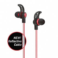 Jarv Wave Reflect Wireless In-Ear Bluetooth Earbuds , Red