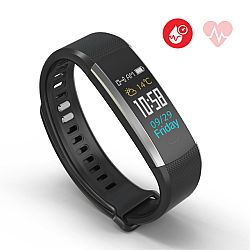 Jarv RunFit Pro Wireless Fitness Activity Band with Built-in Blood Pressure