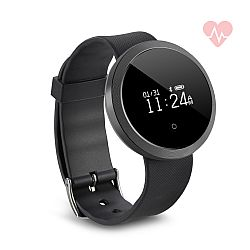 Jarv Life Fit + HR Water-Resistant Smart Watch with Heart Rate Monitor