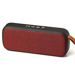 RevJams Vibe Stereo Bluetooth Stereo Speaker - Red